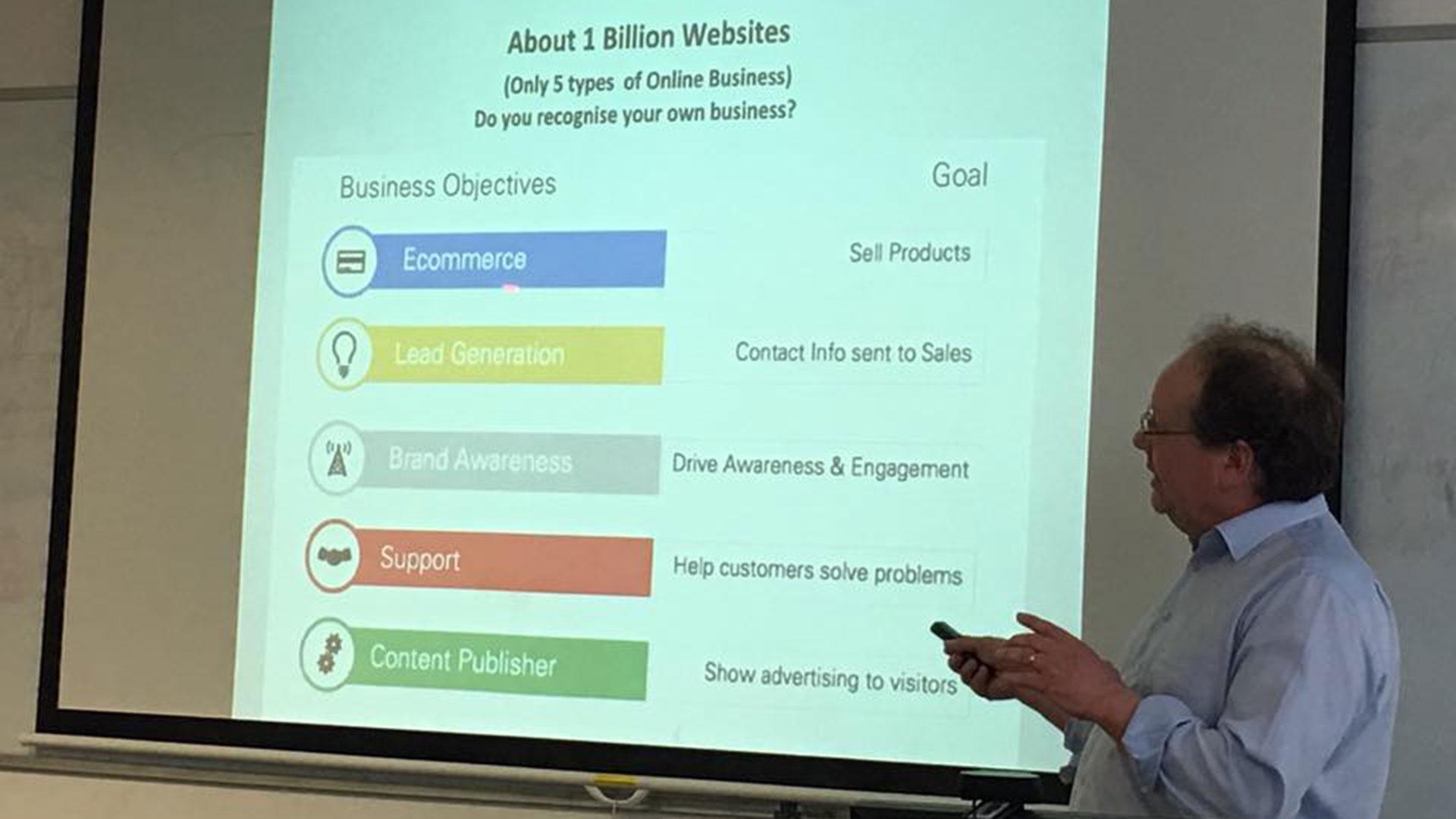 Marketing Your Business in a Digital World - Workshop 3