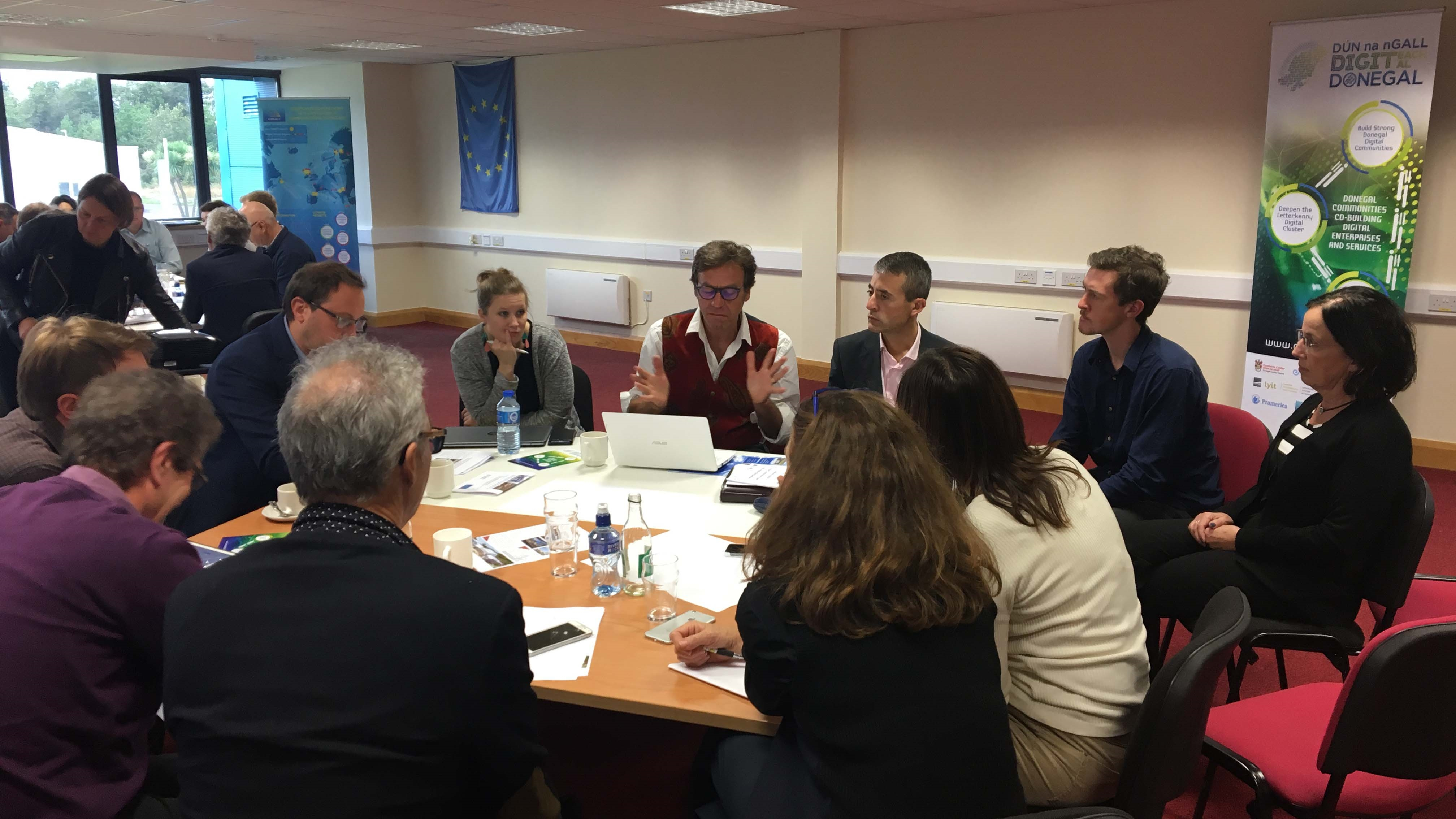 Donegal Digital Action Plan receives inspiration from other European Digital Innovation Hubs