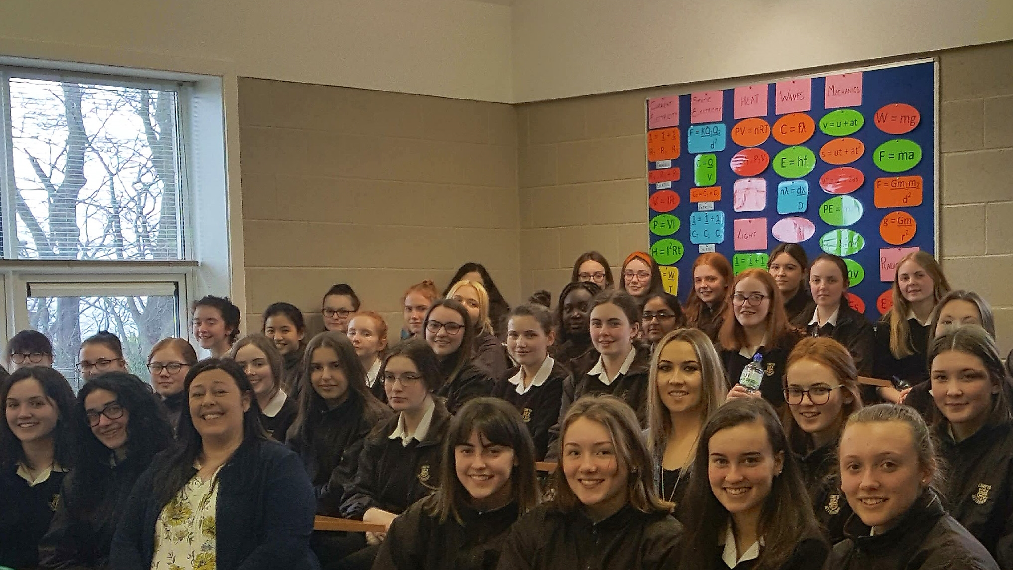 ICT/FinTech experts are inspiring students in Donegal