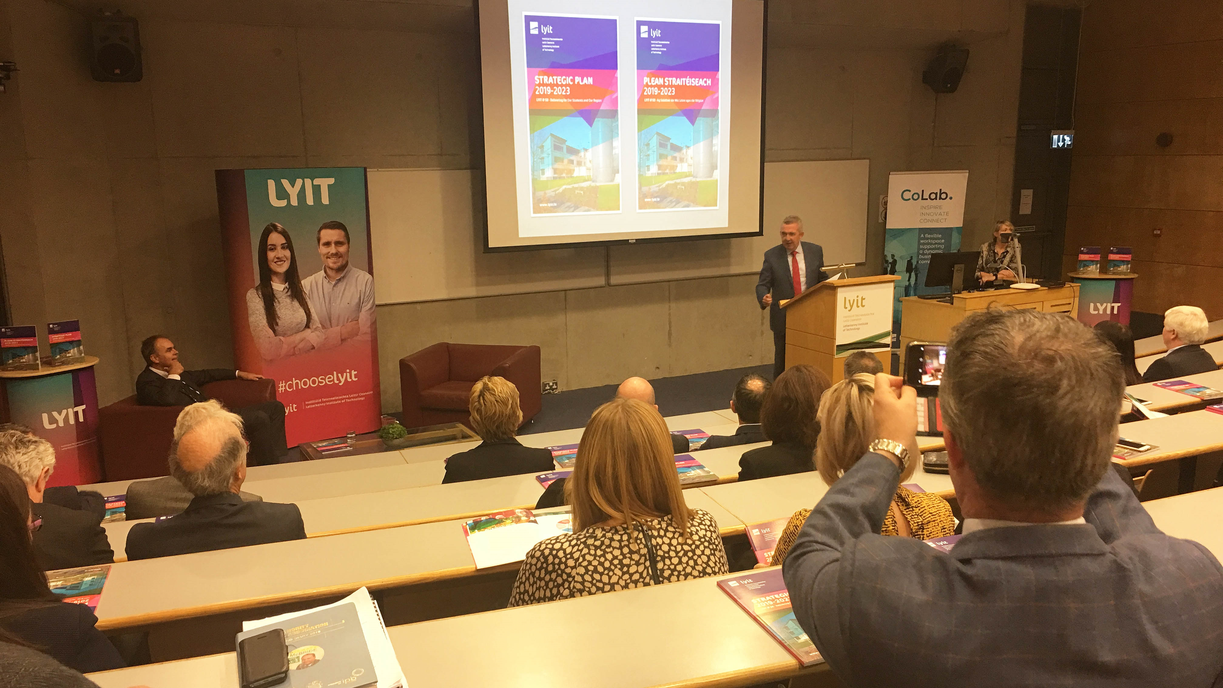 LYIT has launched its Strategic Plan