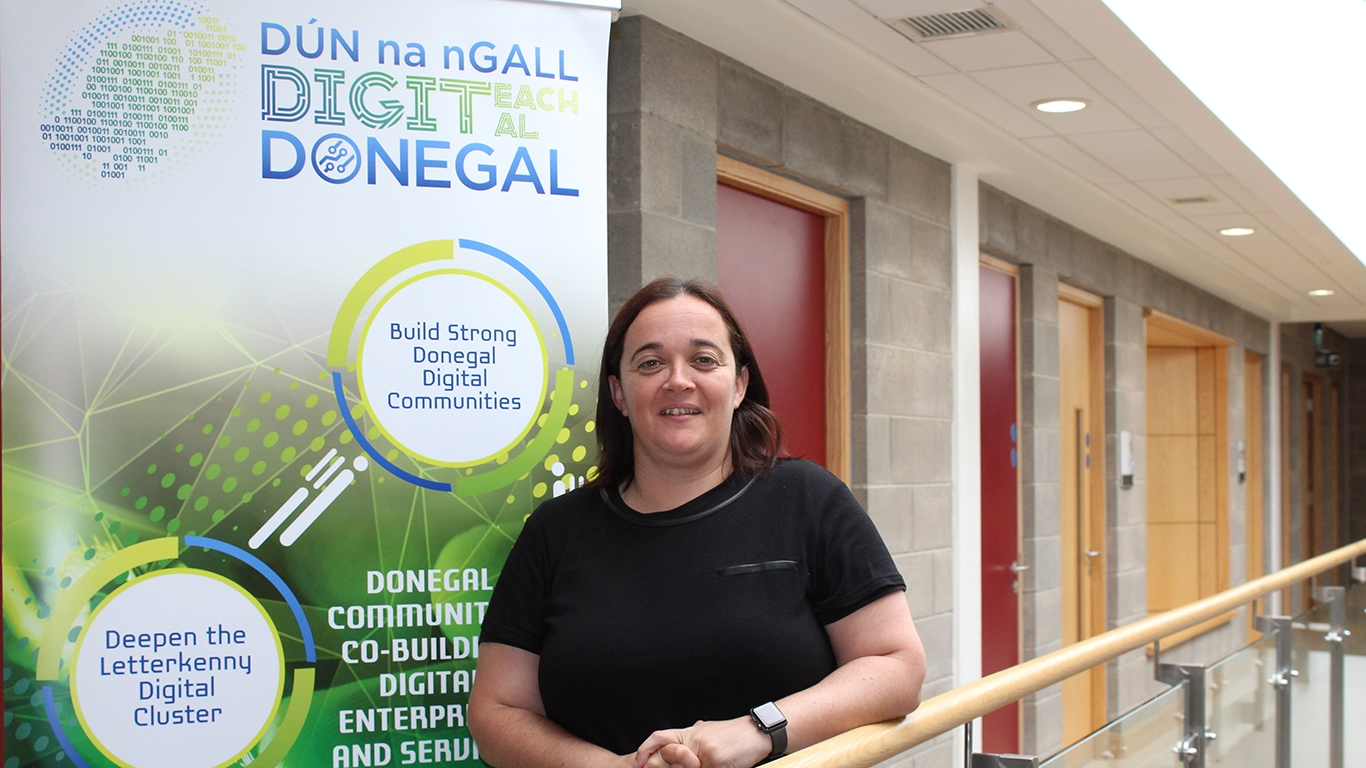 """""""There are opportunities in Donegal to develop your digital skills"""""""
