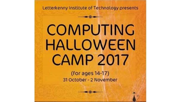 3-Day computing Halloween camp at Letterkenny I.T. for secondary school students