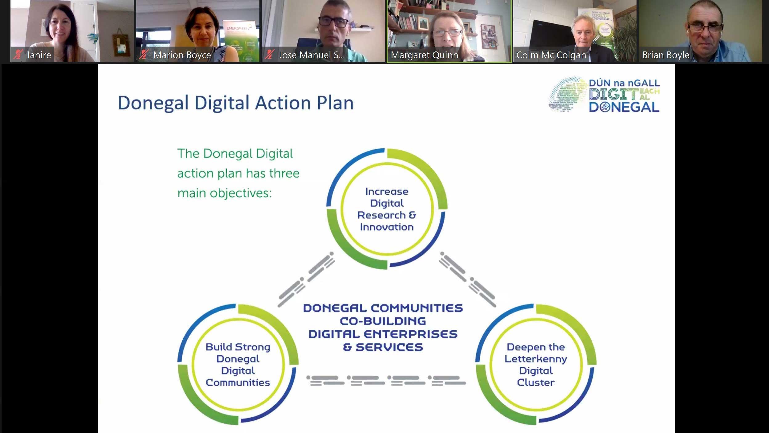 Donegal Digital Action Plan Stakeholder meeting