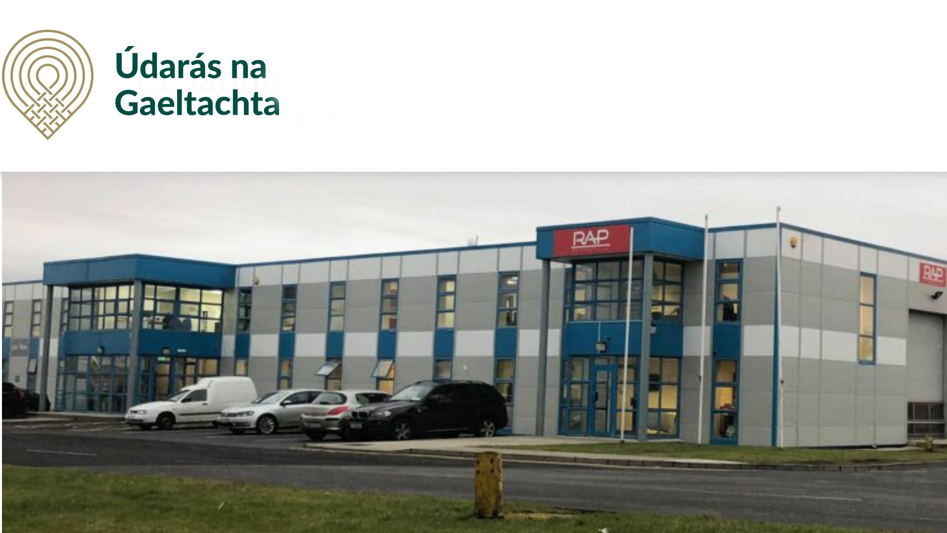 A boost for Gaoth Dobhair Business Park