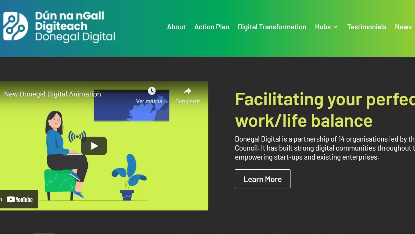 Donegal, a great tech location and a good place to live and work remotely