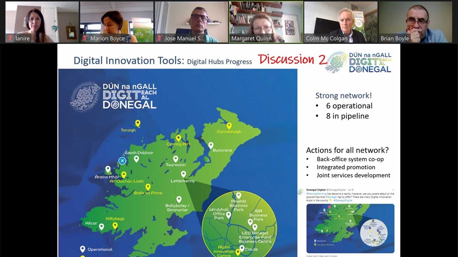 Donegal Digital Action Plan Meeting 12 May 2021
